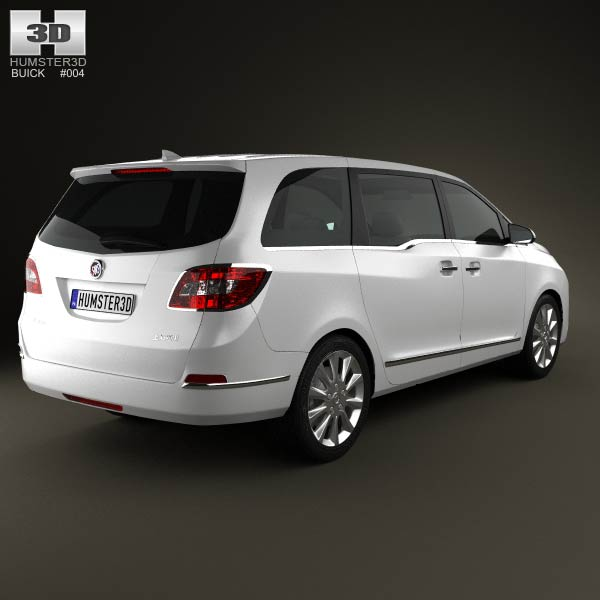 Buick Gl8 2011 3d Model For Download In Various Formats