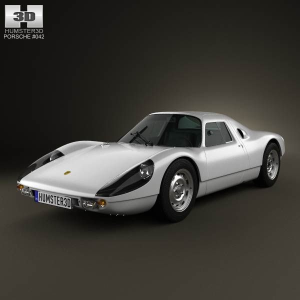 Porsche 904 1964 3d Model For Download In Various Formats