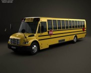Thomas Saf-T-Liner C2 School Bus 2012