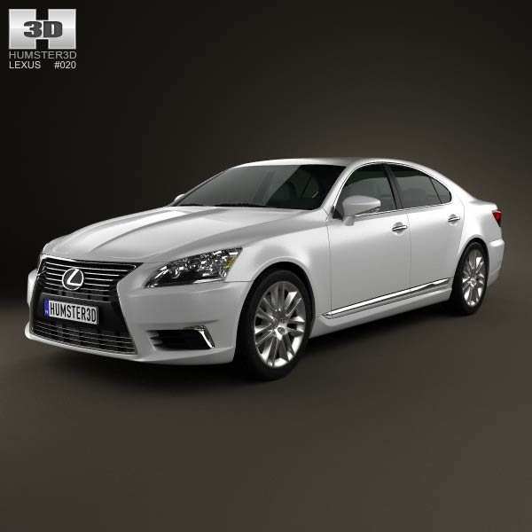 Lexus Ls Xf40 2012 3d Model For Download In Various Formats