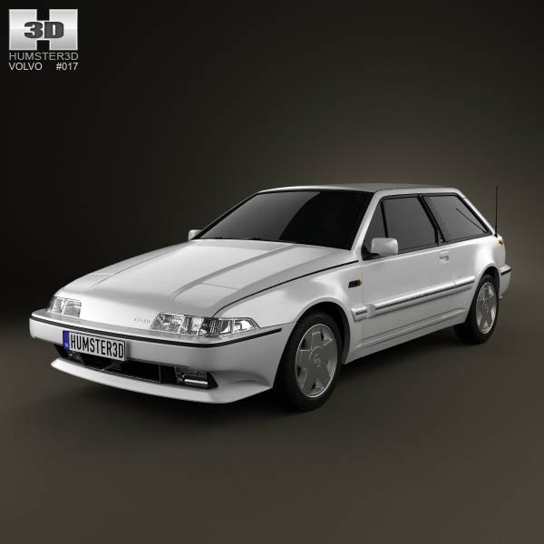 Volvo 480 1986 3d Model For Download In Various Formats
