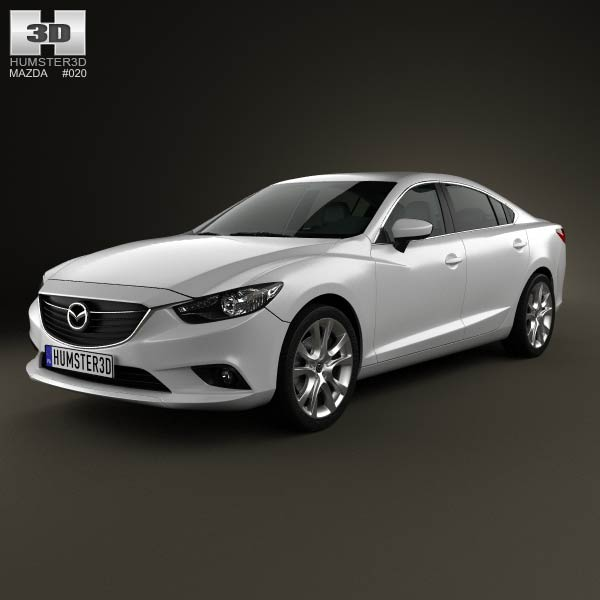 Mazda 6 Sedan 2013 3D Model For Download In Various Formats