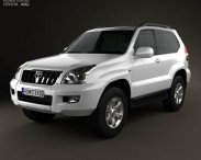 Toyota Land Cruiser Prado (120) 3-door 2009