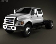 Ford F-650 / F-750 Double Cab Chassis 2012