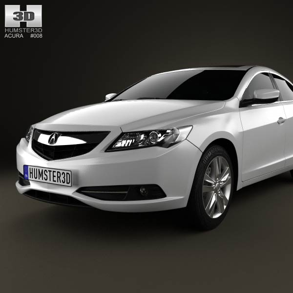 Acura Rlx: Acura ILX 2013 3D Model For Download In Various Formats
