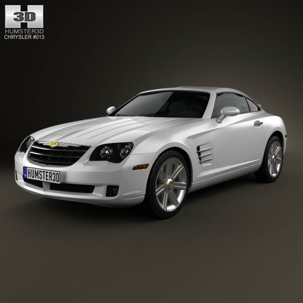 Chrysler Crossfire Coupe 2003 3D Model For Download In