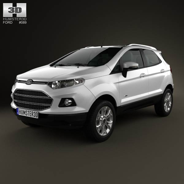 Ford Ecosport Titanium 2013 3d Model For Download In Various Formats