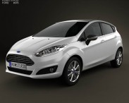 Ford Fiesta hatchback 5-door (EU) 2013