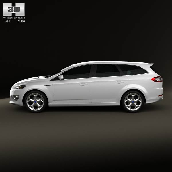 Ford Mondeo Turnier Titanium X Mk4 2012 3d Model For
