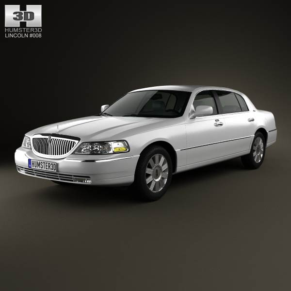 Lincoln Town Car L 2011 3d Model For Download In Various Formats