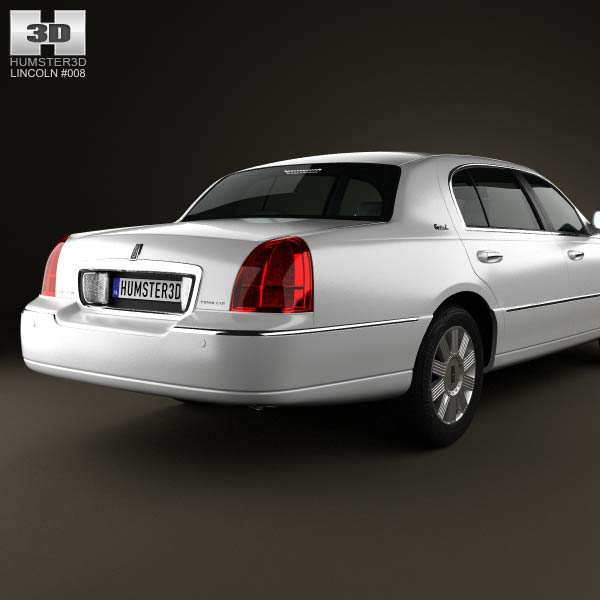 2011 Lincoln Town Car: Lincoln Town Car L 2011 3D Model For Download In Various