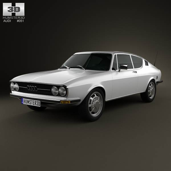 Audi 100 Coupe S 1970 3D Model For Download In Various Formats