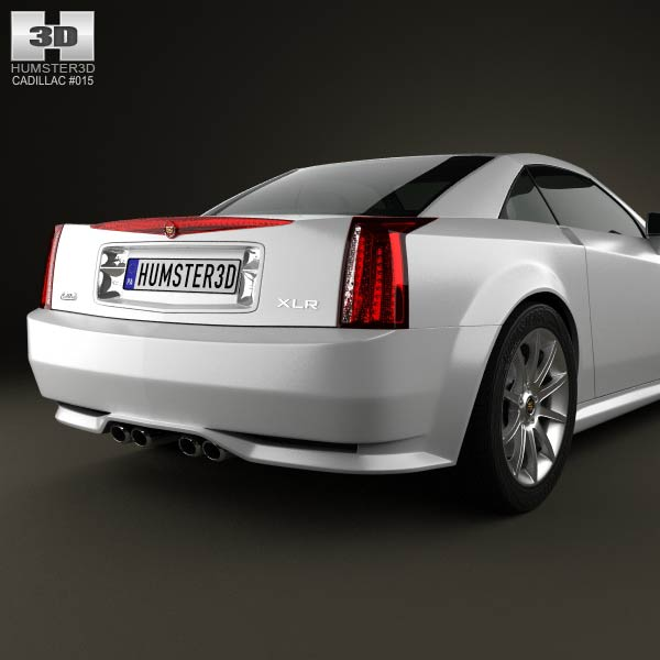 Cadillac XLR 2009 3D Model For Download In Various Formats