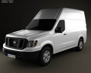 Nissan NV Cargo Van High Roof 2013