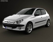 Peugeot 206 hatchback 5-door 2005