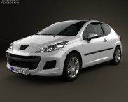 Peugeot 207 hatchback 3-door 2012