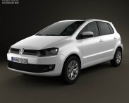 Volkswagen Fox 5-door 2012
