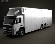 Volvo FM Outside Broadcast Truck 2010