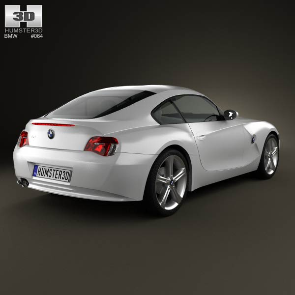 2014 Bmw Z4: BMW Z4 (E85) Coupe 2002 3D Model For Download In Various