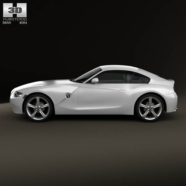 BMW Z4 (E85) Coupe 2002 3D Model For Download In Various
