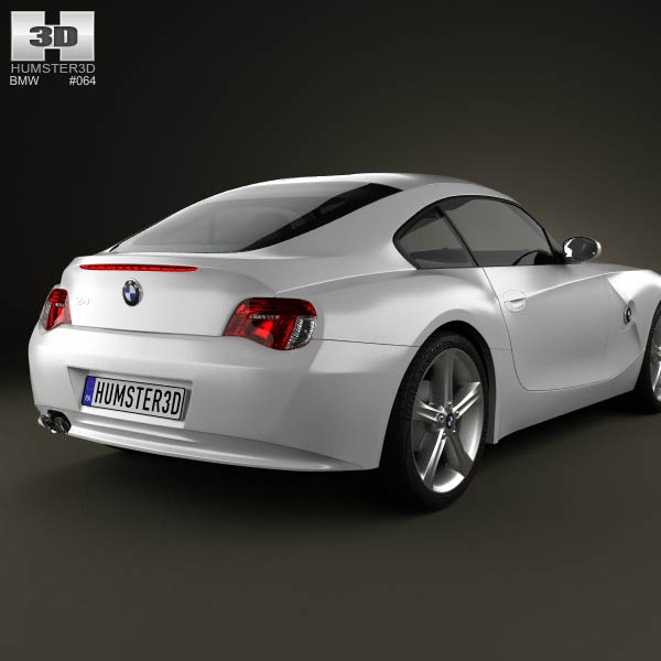 Bmw Z4 E85: BMW Z4 (E85) Coupe 2002 3D Model For Download In Various
