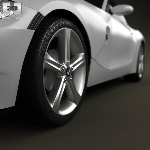 Bmw Z4 2002: BMW Z4 (E85) Coupe 2002 3D Model For Download In Various