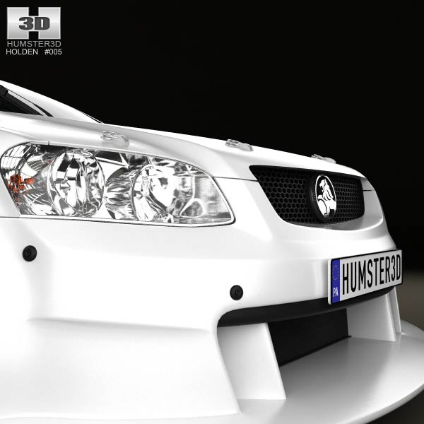 Holden Commodore V8 Supercar 2012 3D Model For Download In