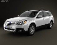 Subaru Outback limited US 2013