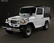 Toyota Land Cruiser (J40) Canvas Top 1979