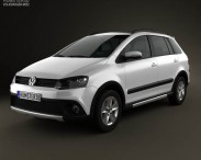 Volkswagen SpaceFox Cross (Suran) 2012