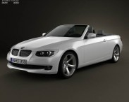 BMW 3 Series convertible with HQ interior 2011