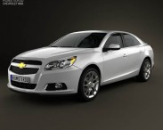 Chevrolet Malibu with HQ interior 2013