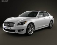 Infiniti Q70 (M) with HQ interior 2011