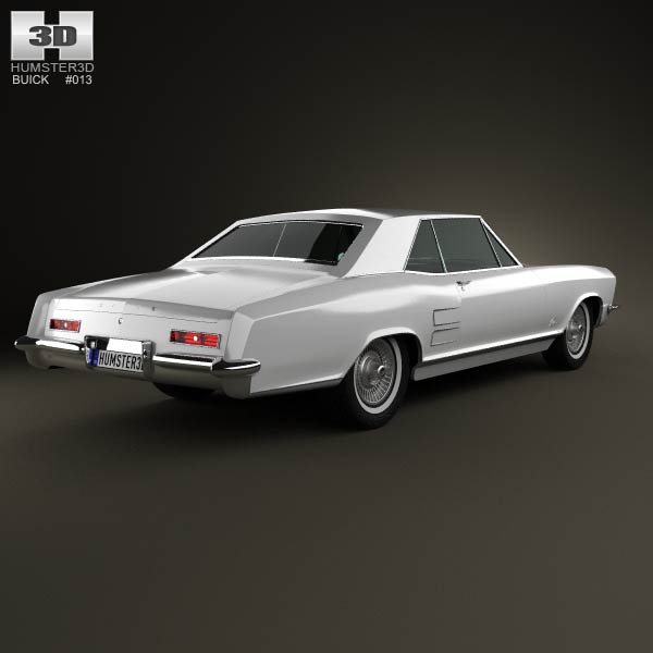 342 Best Images About Buick Riviera 1963 1964 1965 On: Buick Riviera 1963 3D Model For Download In Various Formats