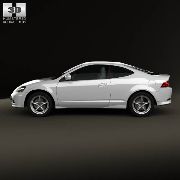 Acura Rsx Type S Acura Tsx: Acura RSX Type-S 2005 3D Model For Download In Various Formats