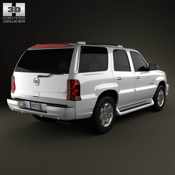 Cadillac Escalade 2002 3D Model For Download In Various