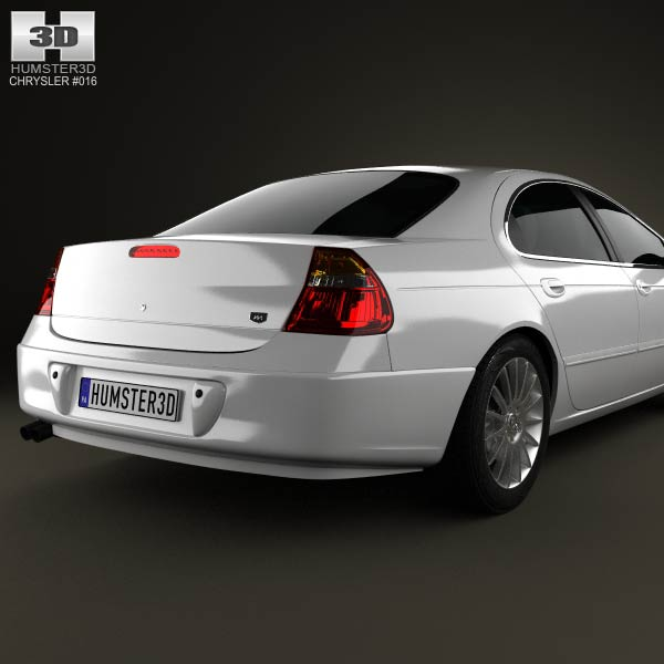 Chrysler 300M 2004 3D Model For Download In Various Formats