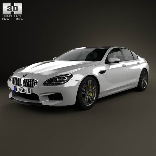 Shopbmwusa Com Bmw 6 Series Gran CoupÉ F06: BMW M6 Gran Coupe (F06) 2013 3D Model For Download In
