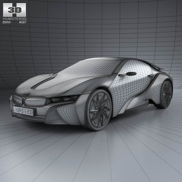 Bmw I8 Conept 2013 3d Model For Download In Various Formats