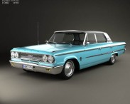 Ford Galaxie 500 4-door hardtop 1963