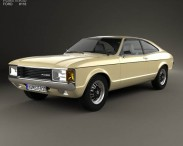Ford Granada coupe EU 1972
