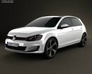 Volkswagen Golf 5-door GTI 2014