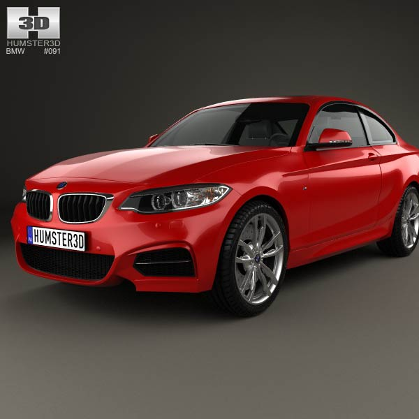 Bmw Zagato: BMW M2 Coupe (F22) 2014 3D Model For Download In Various