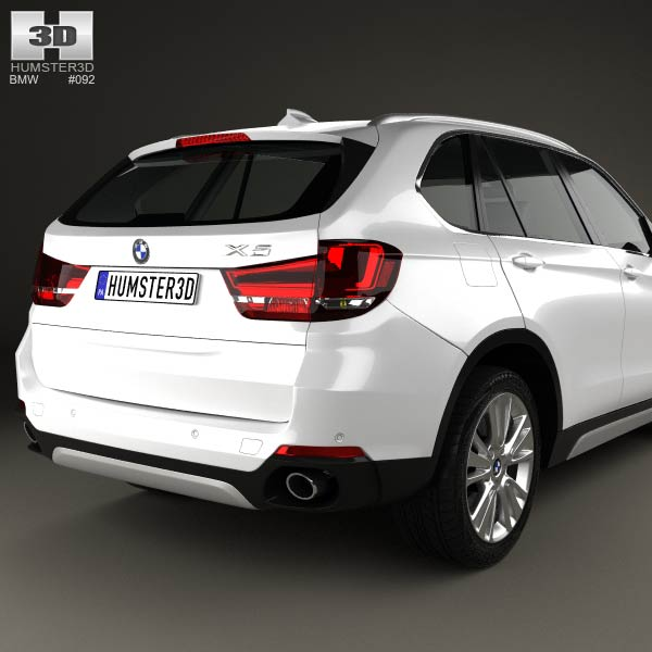 BMW X5 (F15) 2014 3D Model For Download In Various Formats