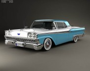 Ford Fairlane 500 Galaxie Skyliner 1959