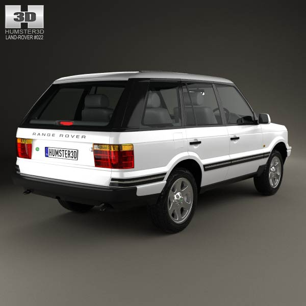 Land Rover Discovery 4 Lr4 2012 3d Model: Land Rover Range Rover 1998 3D Model For Download In