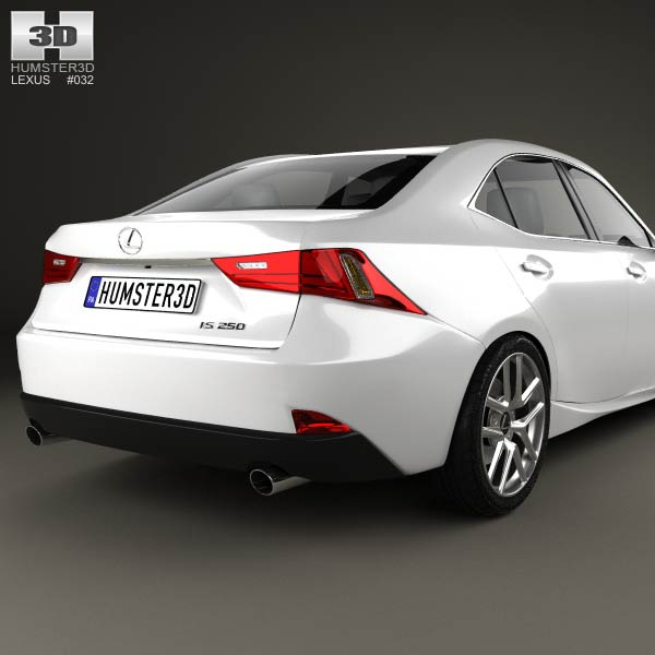 Lexus Is F: Lexus IS F-Sport (XE30) 2013 3D Model For Download In