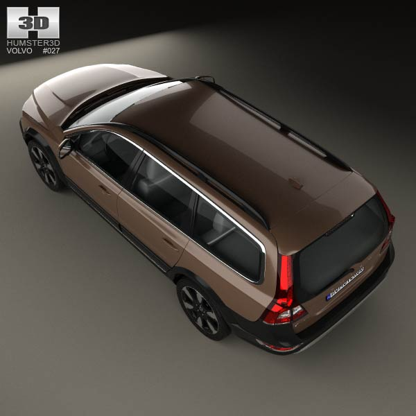2012 Volvo Xc70: Volvo XC70 2013 3D Model For Download In Various Formats
