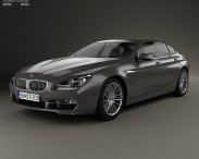 BMW 6 Series (F06) Gran Coupe 2012