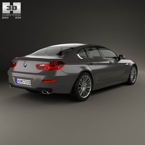 Shopbmwusa Com Bmw 6 Series Gran CoupÉ F06: BMW 6 Series (F06) Gran Coupe 2012 3D Model For Download